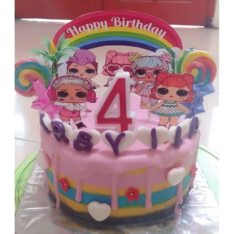 Kue ulang tahun/kue tart LOL