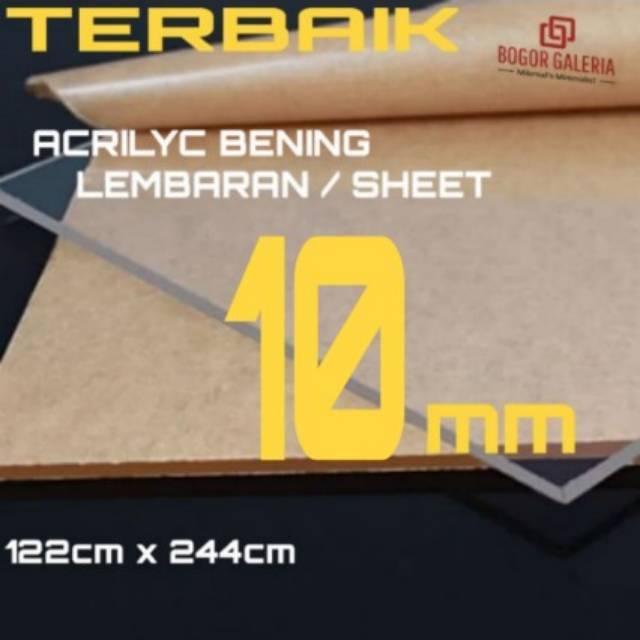 ACRILYC Lembaran 10mm AKRILIK SHEET