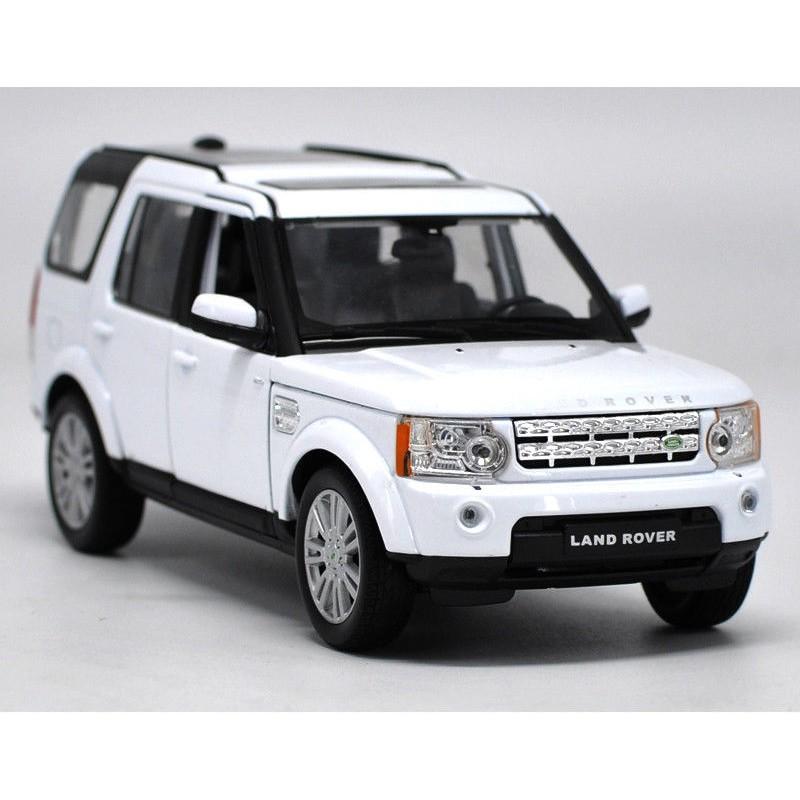 Land Rover Discovery >> Miniatur Diecast Mobil Balap Welly 1 24 Land Rover Discovery 4 Model Car Dengan Kotak Warna Putih