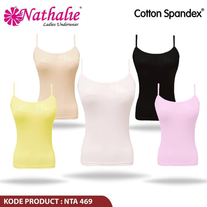 Nathalieofficial Kaos Tanktop Pakaian dalam Wanita Nathalie NTA 450 ... c2ddbacc37