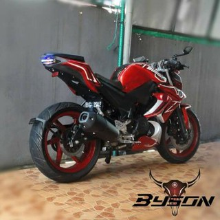 Body Belakang Ninja 250 Fi Air Brus New Vixion Warna Merah Shopee