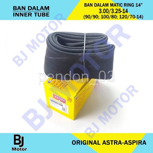 TUBE BAN DALAM MOTOR MATIC RING 14 BESAR 90/90 100/80 100/70 110/70 120/70-14 300/325-14