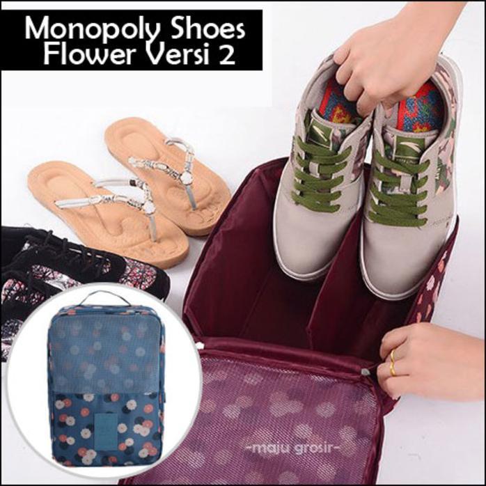 Tas Sepatu Olahraga Futsal Wisata / Monopoly Shoes Pouch Versi 3 | Shopee Indonesia