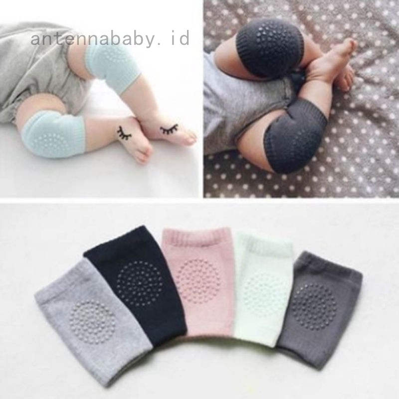 Infants Toddlers Baby Knee Pads Protector Safety Crawling Protect Elbow Cushion