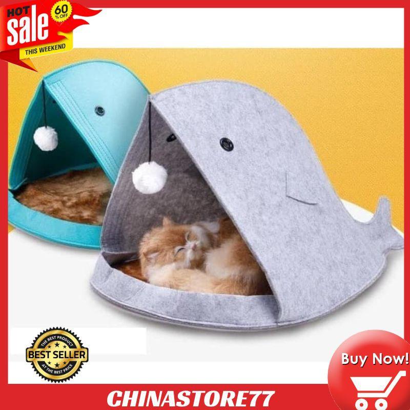 Kandang Hewan Tempat Tidur Kucing Anjing Portable Model Fish Perawatan Hewan Perlengkapan Hewan Shopee Indonesia