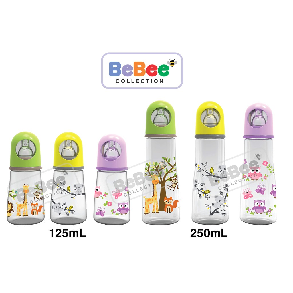 Baby Safe Botol Susu Wideneck Leher Besar Feeding Bottle Dot Bayi 125ml Regular Ap001 Karakter Shopee Indonesia