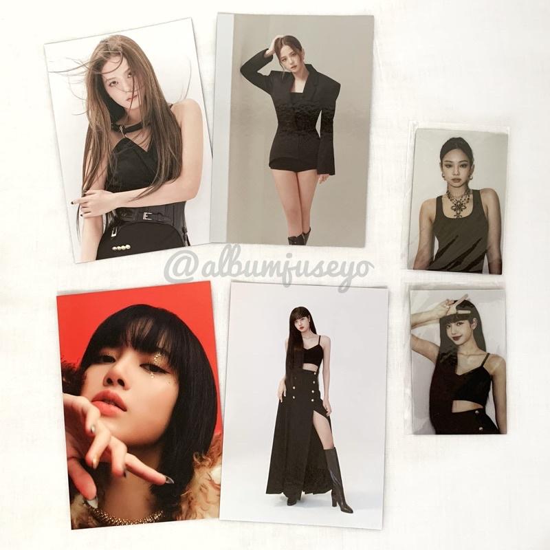 PC Photocard Postcard Jisoo Lisa Jennie THE ALBUM