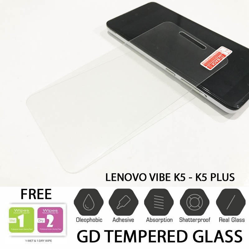 LENOVO VIBE K5 / K5 PLUS PREMIUM QUALITY TEMPERED GLASS RAKKI | Shopee Indonesia