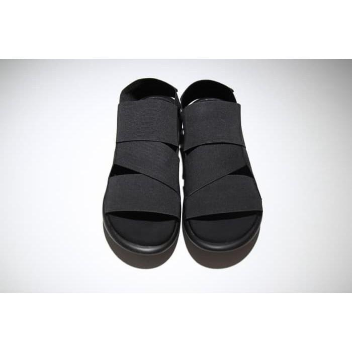 bf50a9aa005c ... ADIDAS Sandal Y3 Qasa Yohji Yamamoto Black Premium Original Sendal ...