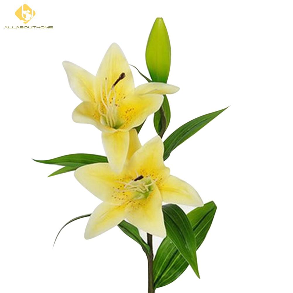 Bunga Lily Imitasi Untuk Dekorasi Rumah Pesta Pernikahan