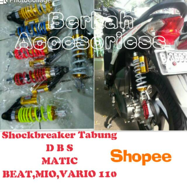 Yoko Sok Shock Shockbreaker Hyper UX Beat CW Karbu Tabung atas 30 cm 300 mm Kuning | Shopee Indonesia
