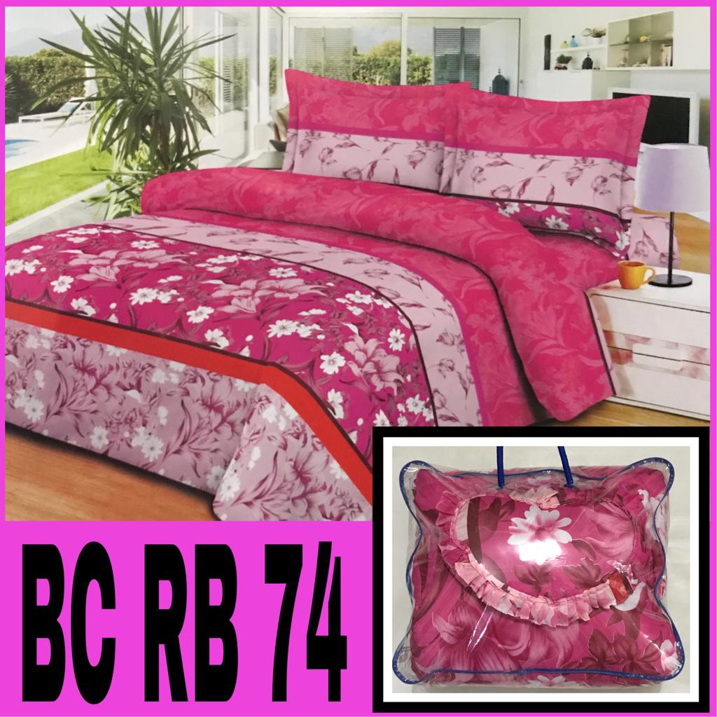 Jual Murah Chelsea Rosewell Bed Cover Set Sprei 120 Microtex Emboss 180x200cm Promo Bedcover Import King Size Queen Badcover