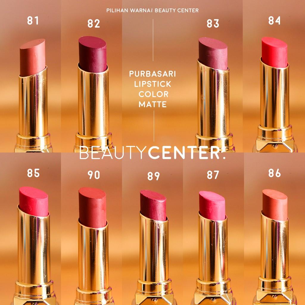 Purbasari Matte Lipstik Shopee Indonesia Lipstick Colour