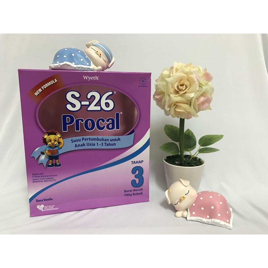 S 26 Promise Box 400 Gr Shopee Indonesia Lactogrow Happynutri Tahap 3 Susu Pertumbuhan 750 Plain