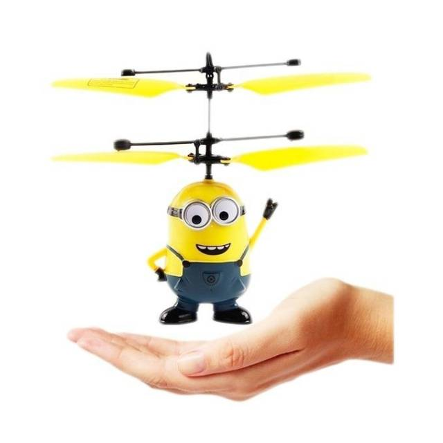 Flying HELICOPTER FLYING DRONE Minion Super Hero   Boneka Terbang   mainan  anak  f2d89c5bfe