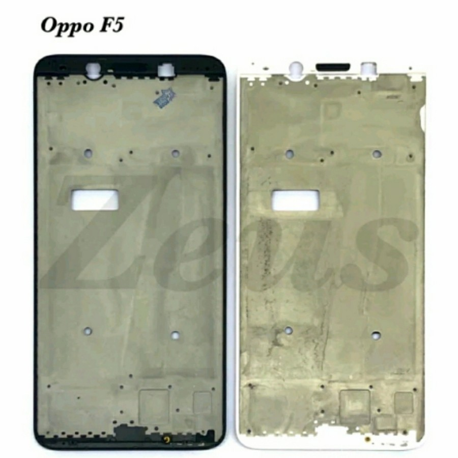 FRAME LCD - TATAKAN LCD TULANG TENGAH OPPO F5 YOUTH / F5 PLUS
