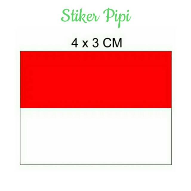 Stiker Pipi Merah Putih Asean Games Bendera Indonesia Logo Lomba Murah 17 Agustus Acara Shopee Indonesia