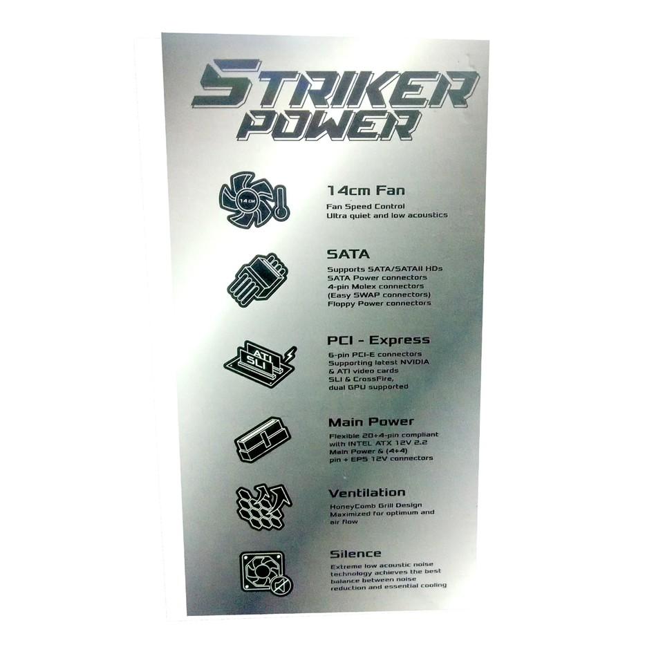 Psu Power Supply Infinity 400 Watt 400w 80 Bronze Shopee Indonesia Plus Pure Garansi Original Resmi