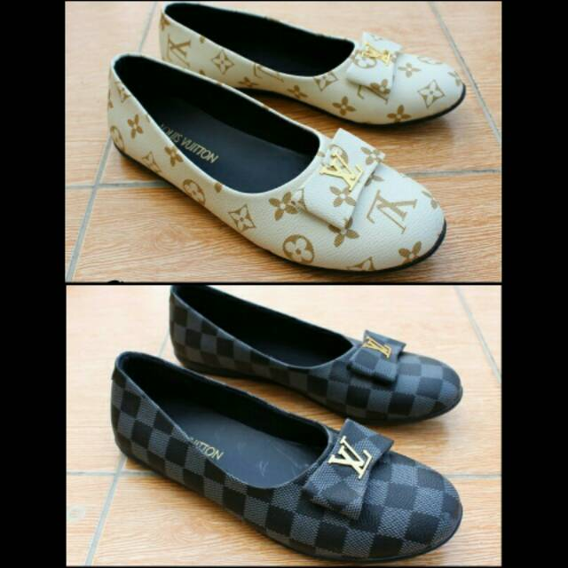 Sepatu Slipon LV Cantika Wanita - Sepatu slip on Wanita sepatu LV wanita  da9b4d5b6e