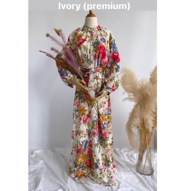 dress gamis import premium Bangkok brand lfy