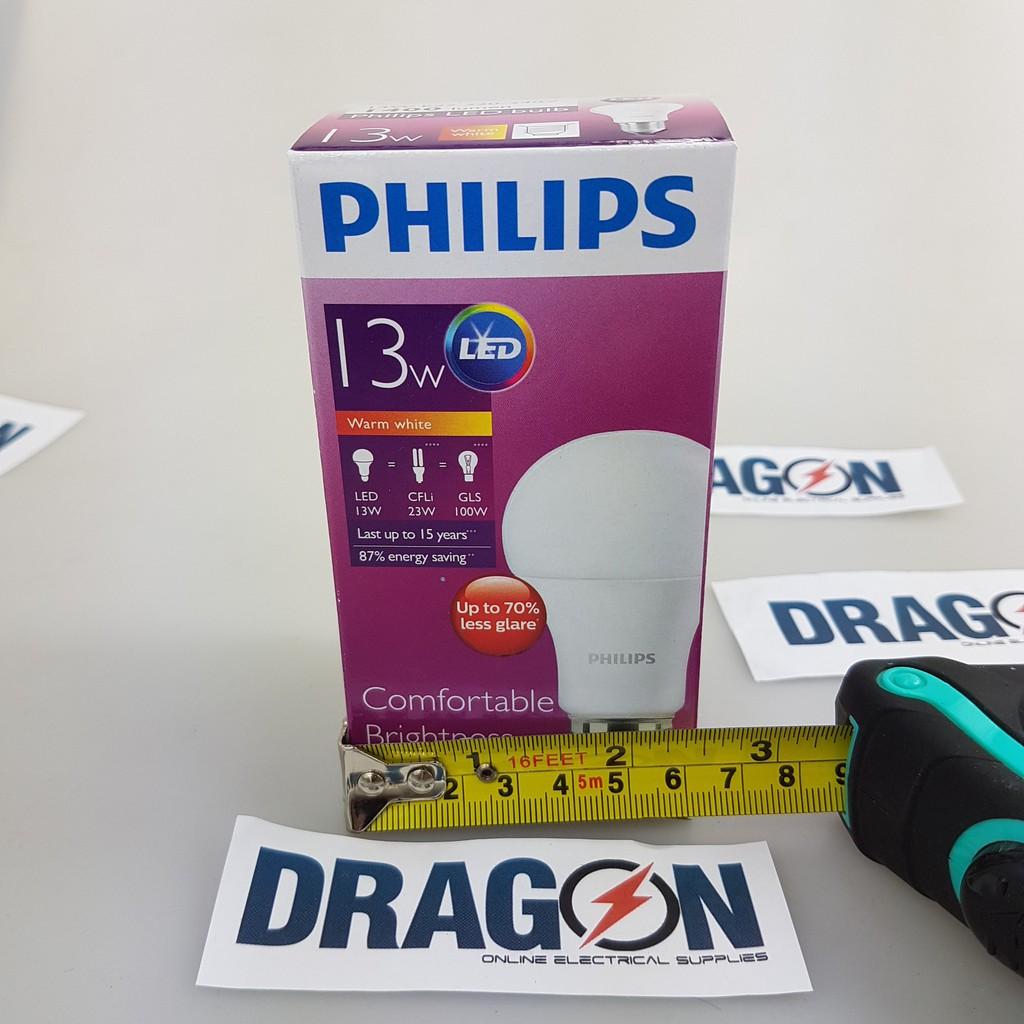 Lampu Led Philips 13w 13 W Watt Promo Beli 3 Gratis 1 Bundling Bohlam Philip Bulb 13watt Paket  4pcs Kuning Shopee Indonesia