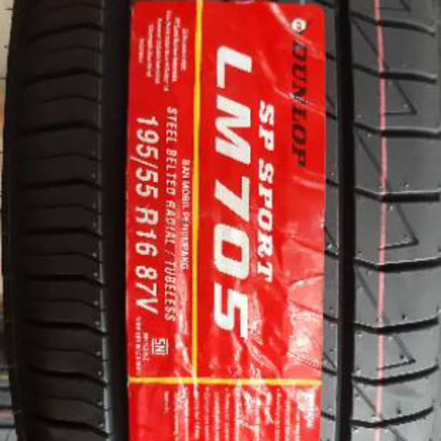 Ban Dunlop 195 55 R16 Lm705 Shopee Indonesia
