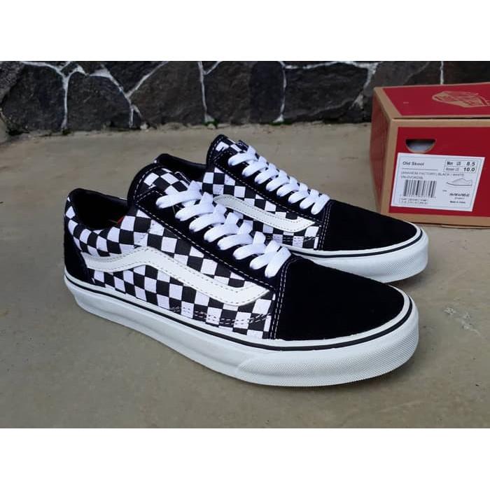 Sepatu Vans Catur L Old Skool L Patta L Authentic L Checkerboard