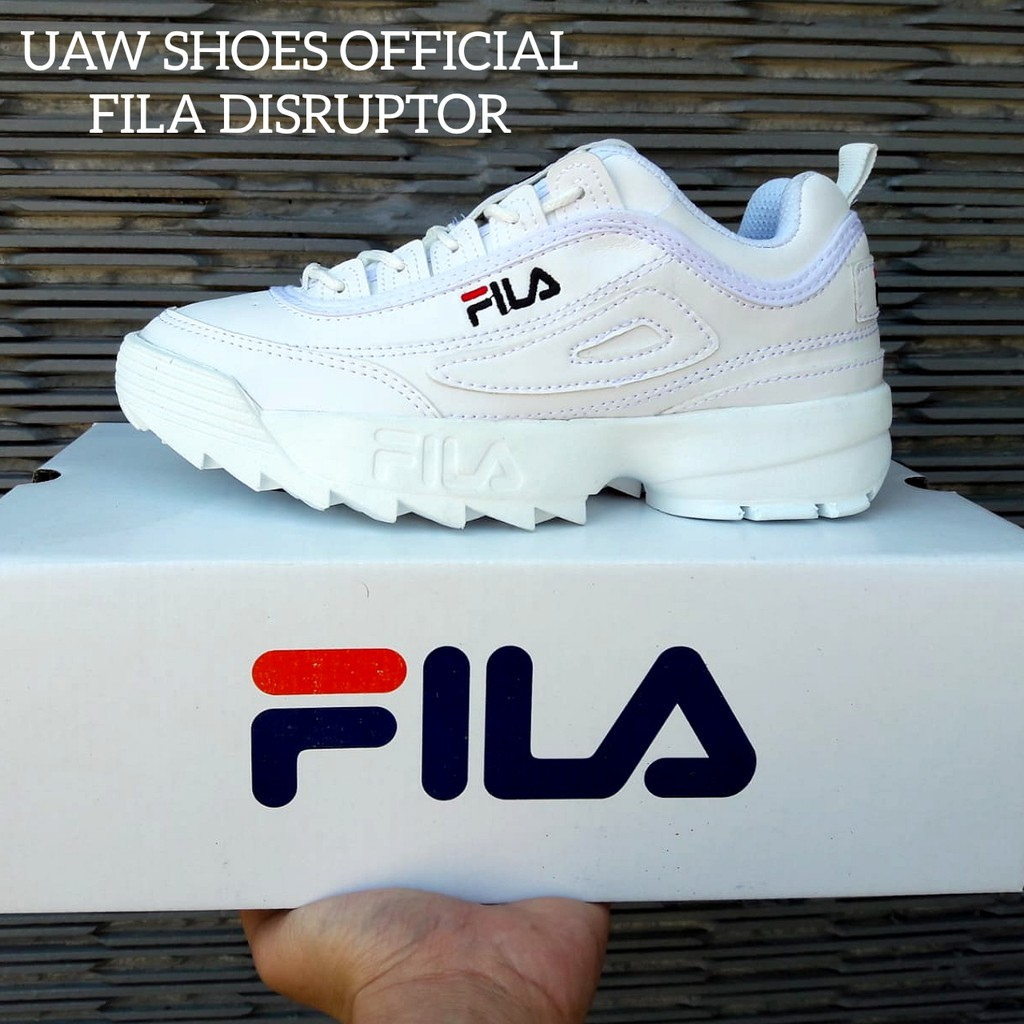 HABISIN STOCK FILA DISRUPTOR 2 WOMEN KW SUPER. SEPATU FILA WANITA. SNEAKERS  WOMEN - FULL PINK 87caa2744d