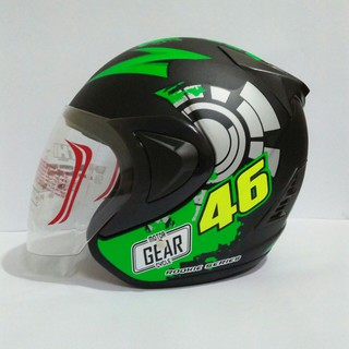 helm SNI Murah / Helm Half Face THI Rossie DECAL 46 BASSIC