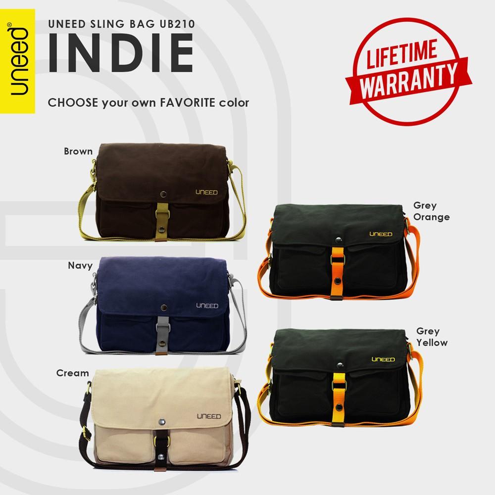 Uneed Quantum Tas Selempang Pria / Tas Sling Bag UB218 - Hitam   Shopee Indonesia