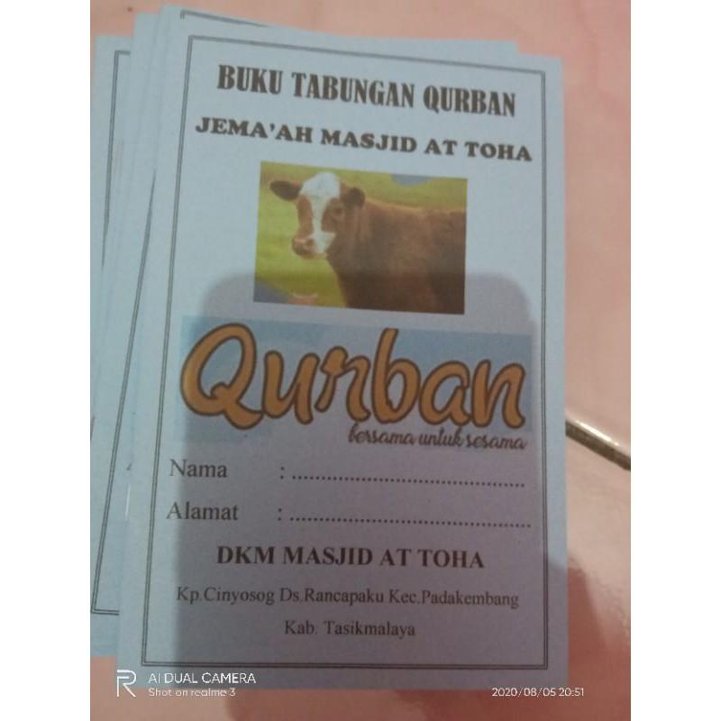 Buku Tabungan Qurban Shopee Indonesia