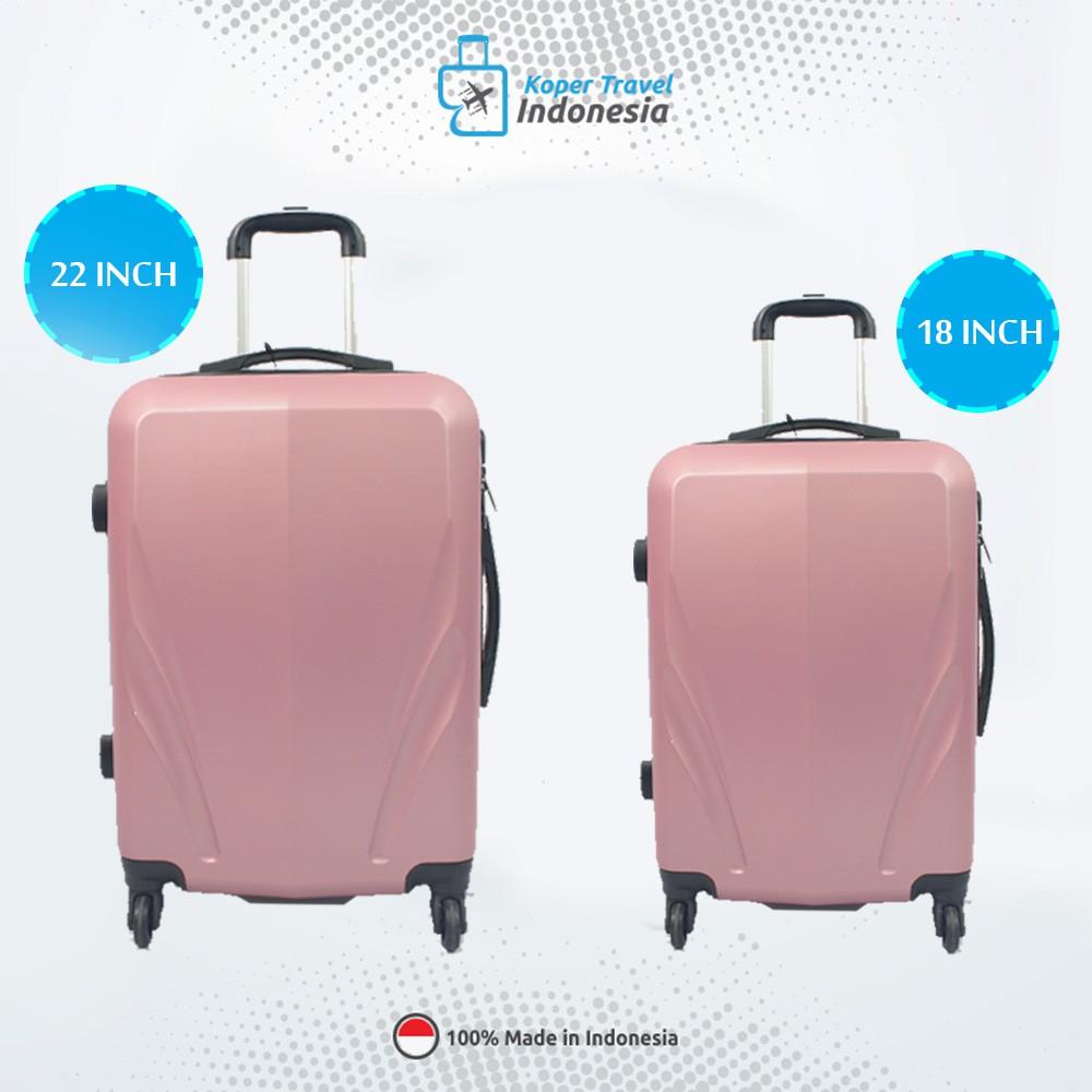 Jual Beli Produk Koper Tas Travel Wanita Shopee President Uk 20 Indonesia