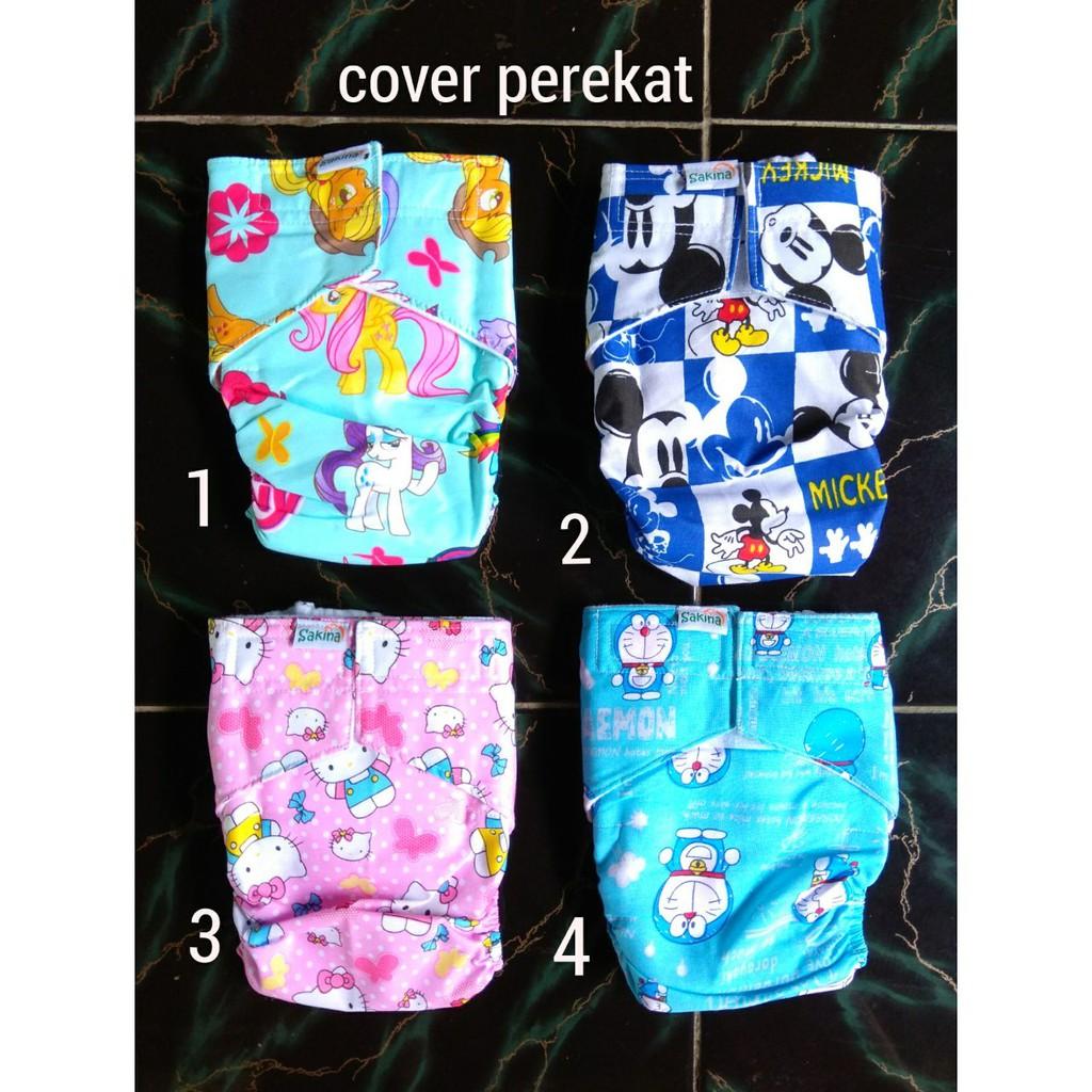 Paket Hemat Clodi Izzyeco Popok Kain Sni Diskon Murah Limited Minikinizz Izzy Eco Cloth Diaper Grosir  Motif 6 Shopee Indonesia