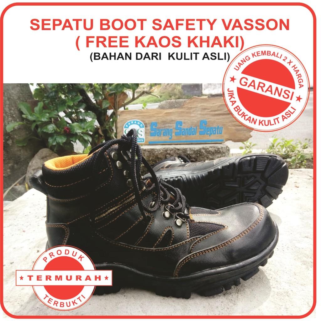 ❏❀Sepatu Kulit Pria boot cassual original vasson harga termurah ... 349bd5024d