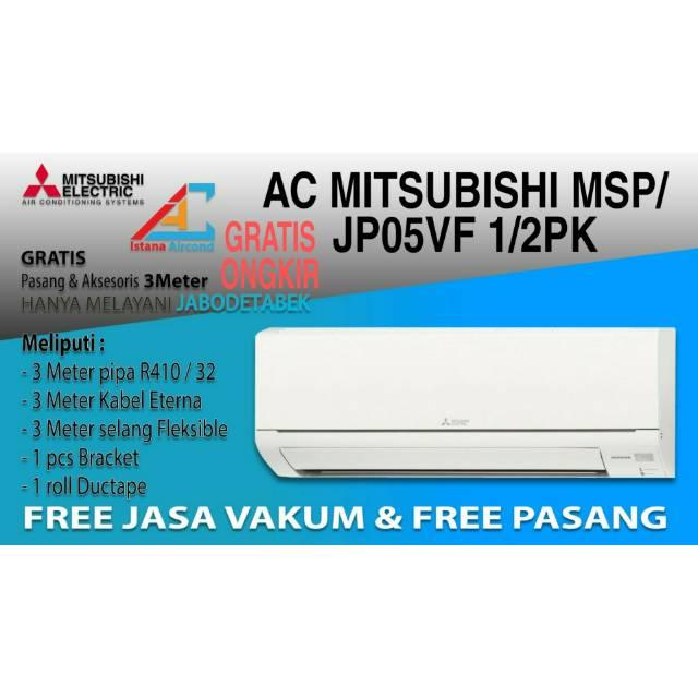 AC MITSUBISHI MSUJHP-05-VFN1 1/2PK