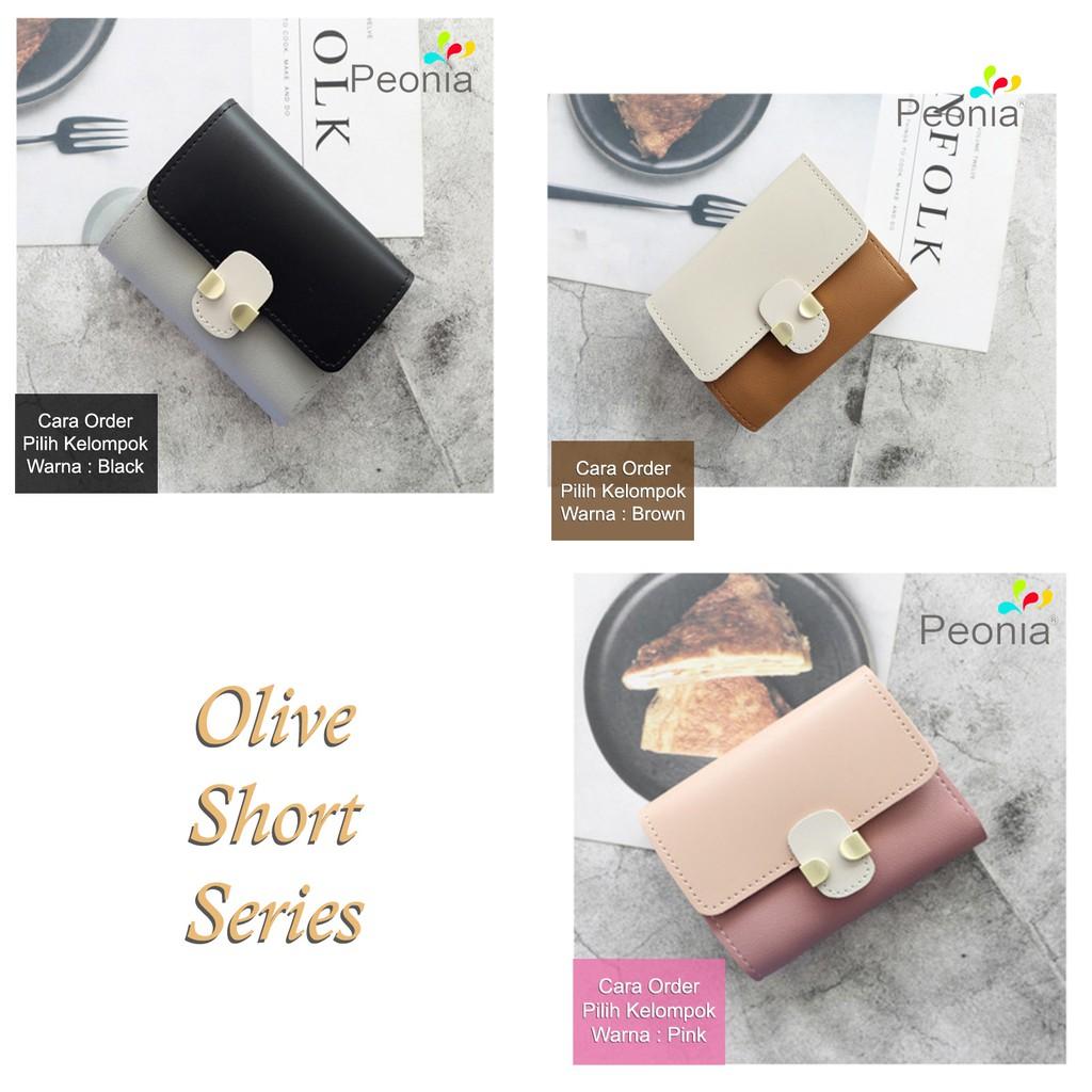 Peonia - Dompet Wanita Kecil Lipat Import - Korea Fashion Style - Bear Short | Shopee Indonesia