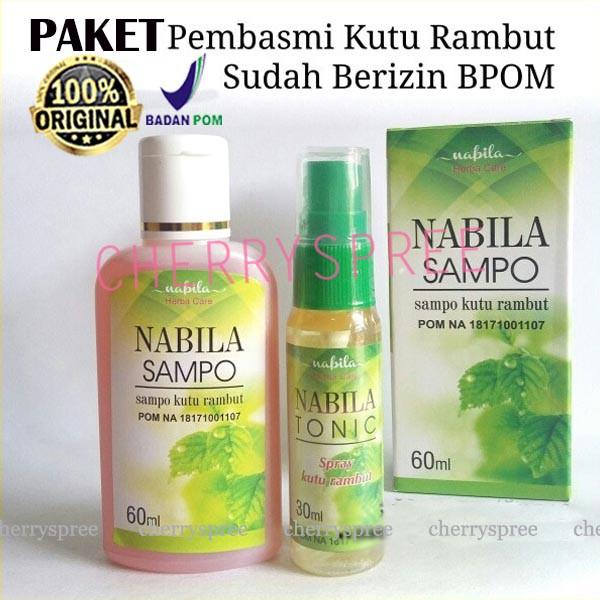Nabila Sampo Sampo Herbal Anti Kutu Rambut Shopee Indonesia
