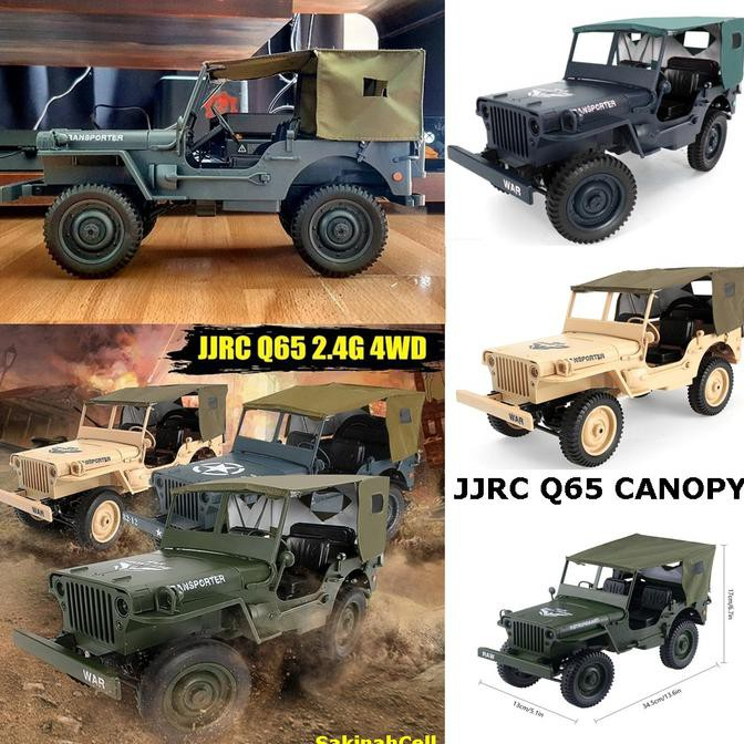 Military Jeep For Sale >> Sale Promo Rc Jeep Willys 4wd Convertible 1 10 2 4g Q65 C606 4wd Jeep Off Road Rc Belanja Sekarang