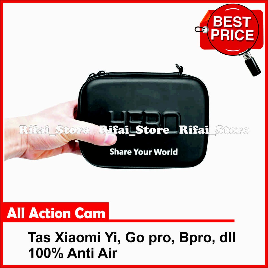 Tas Xiaomi Yi Go Pro Hero Anti Air Shopee Indonesia Bag Case Storage Size Small For Action Camera Gopro Dll