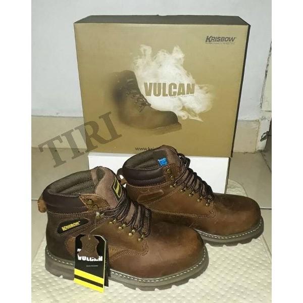 Diorder Cuyy Spessial Krisbow Vulcan Sepatu Safety Shopee Indonesia