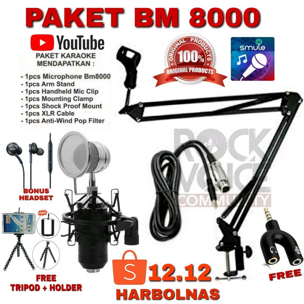 PAKET HEMAT BM 8000 FULL SET  lop8886