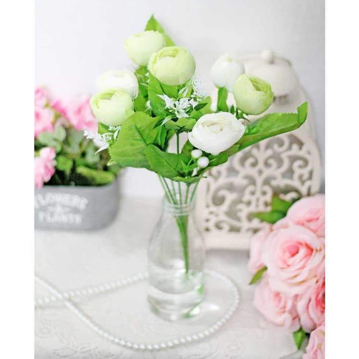 New Bunga Plastik Artificial Artifisial Hias Mawar Rose Telur Shabby 4 Shopee Indonesia
