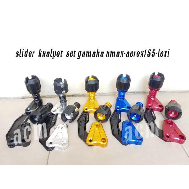 Jalu / Pelindung Knalpot Variasi Aerox, Nmax, Mio, Xeon, Vario125 / 150 Sepasang Fast Bikes | Shopee Indonesia