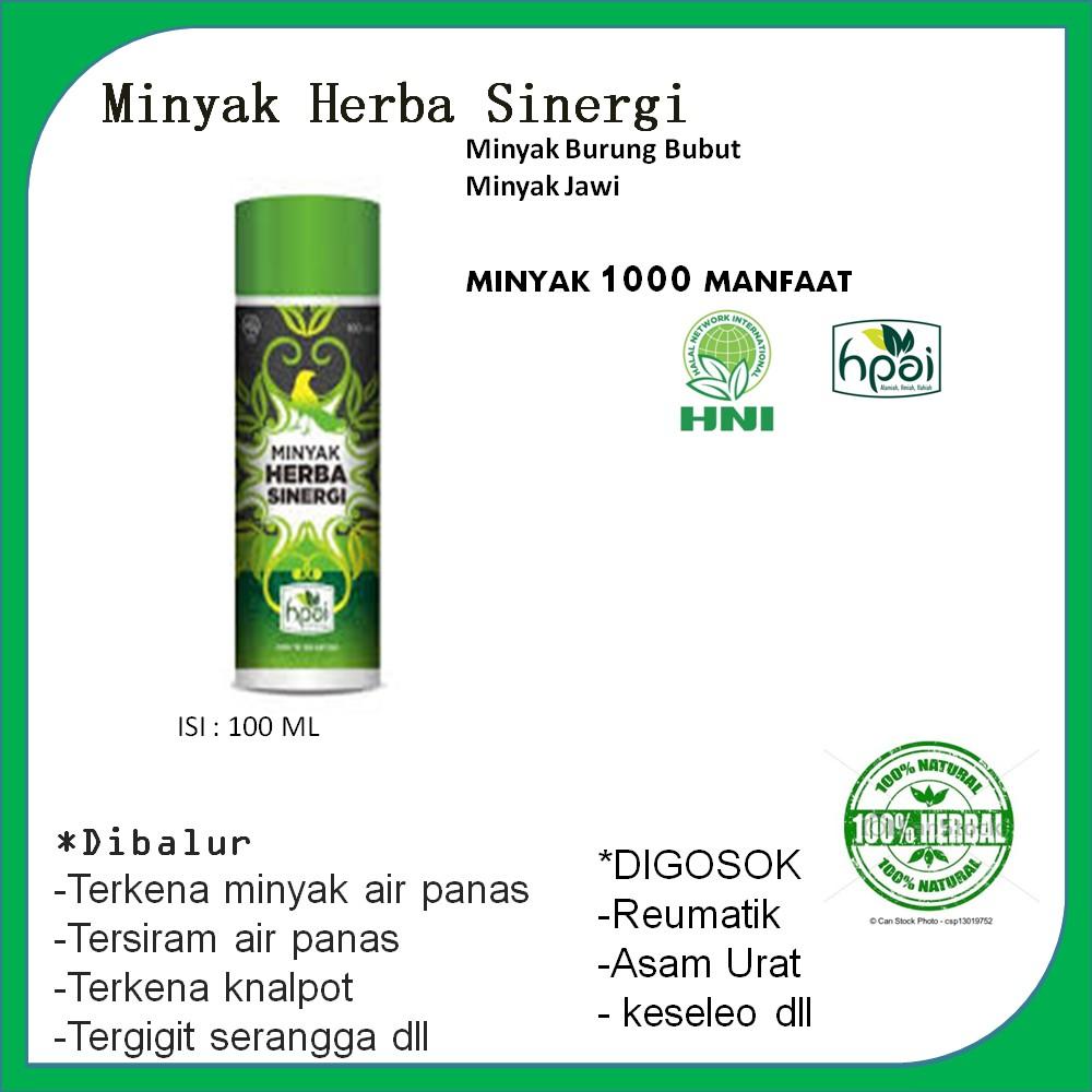 Minyak Bubut Hpai Herba Sinergi Shopee Indonesia Burung