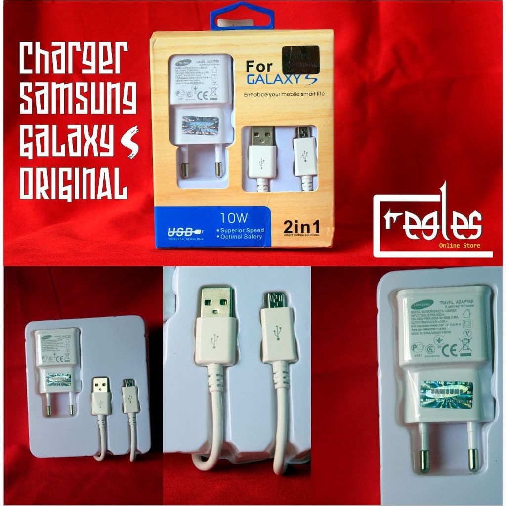 Charger Original Samsung Galaxy S4 S3 Note 2 J1 J2 J3 J5 Kabel Data Mega Grand 100 J7 Prime Shopee Indonesia