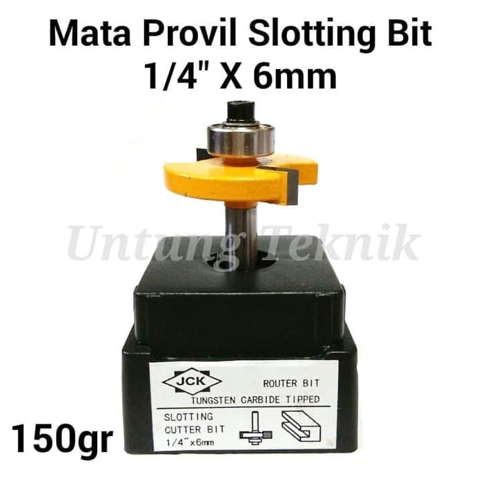 "Mata Profil Beading Bit 6 mm / Router Bit 1/4"" x 1/4 mm | Shopee Indonesia"