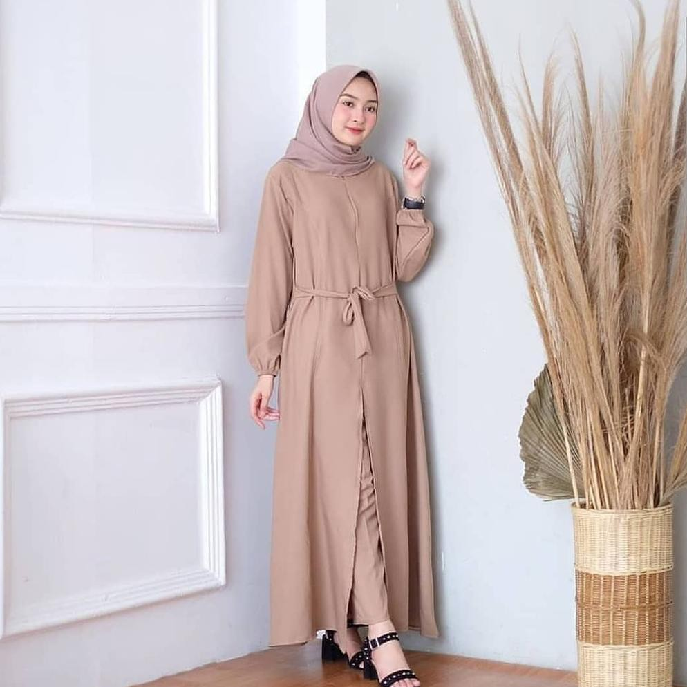Model Terbaru STELAN OOTD WANITA / TANIA SET DRESS ...