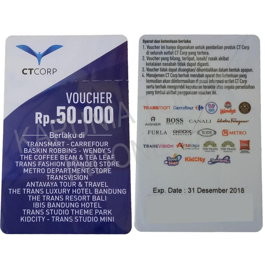 E Voucher Transmart Carrefour 100000 Shopee Indonesia Stok Baru 100 Ribu