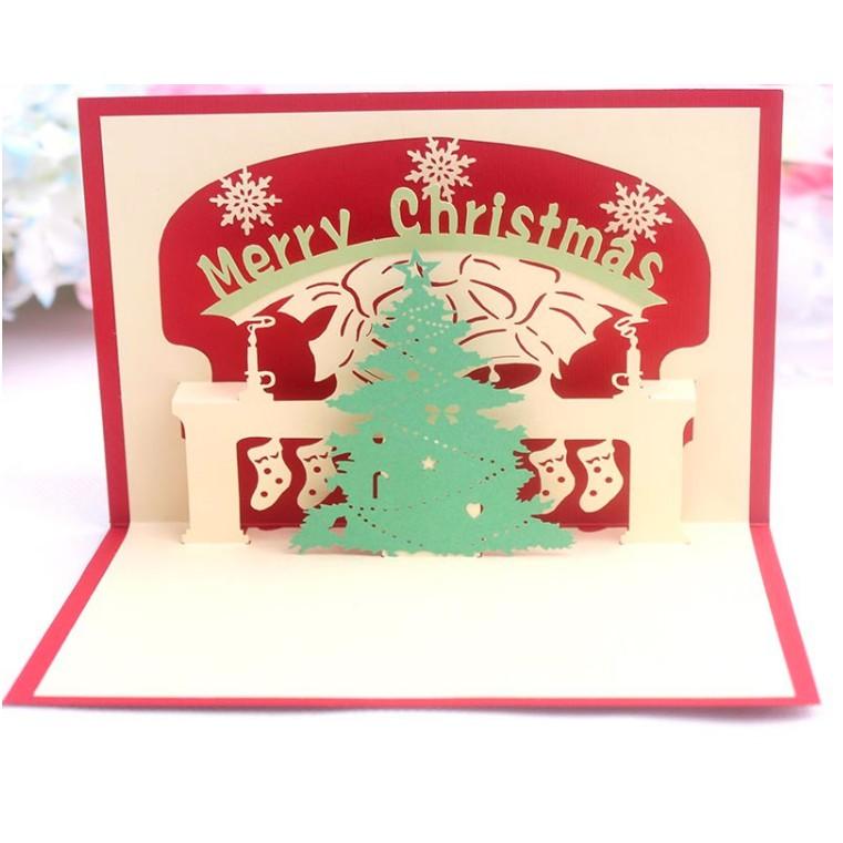 30+ Ide Keren Desain Simple Kartu Ucapan Natal Tahun Baru ...