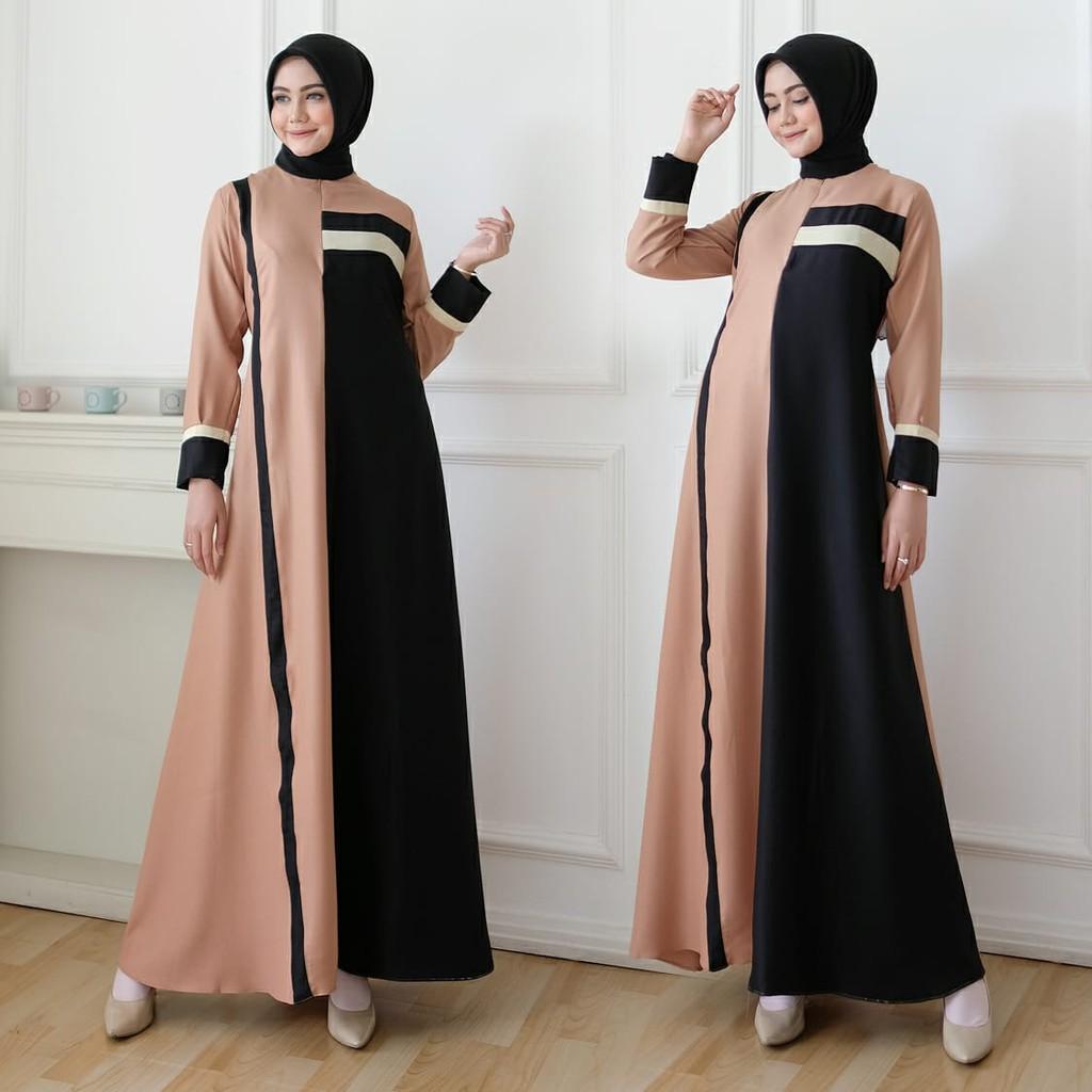 quinnyshop-COD-gamis lebaran 9-baju gamis wanita terbaru-jubah  wanita-baju muslim wanita gamis